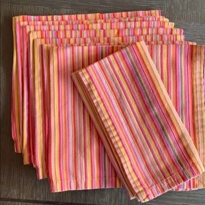 Crate & Barrel cloth napkins